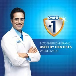 Oral B Cavity Defense 123 Black Toothbrush – Soft (Pack of 4)