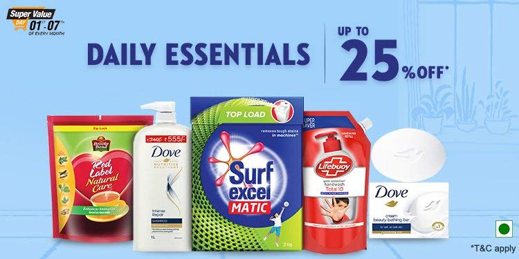 MAYABINI STORE catagory poster daily essentials